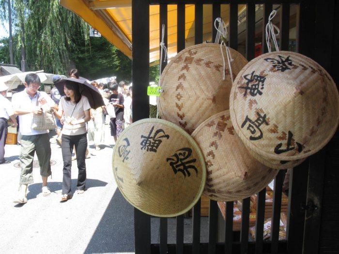 The morning market in Takayama