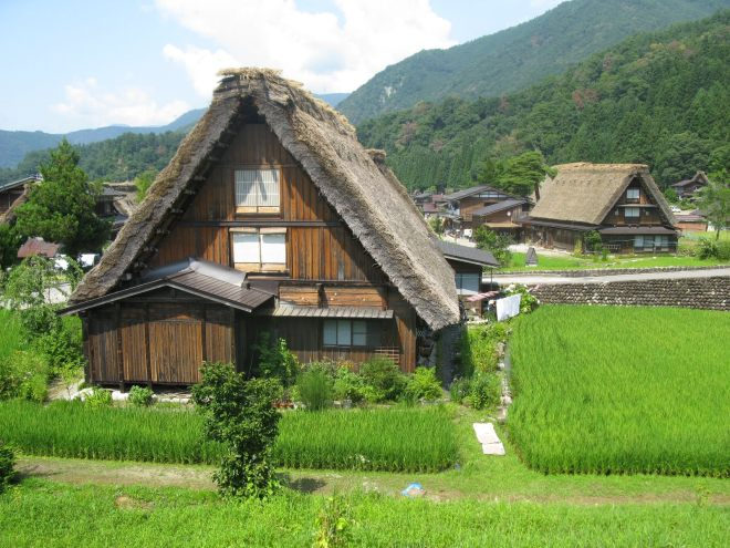 The Historic Villages of Shirakawa-go Traditional Houses