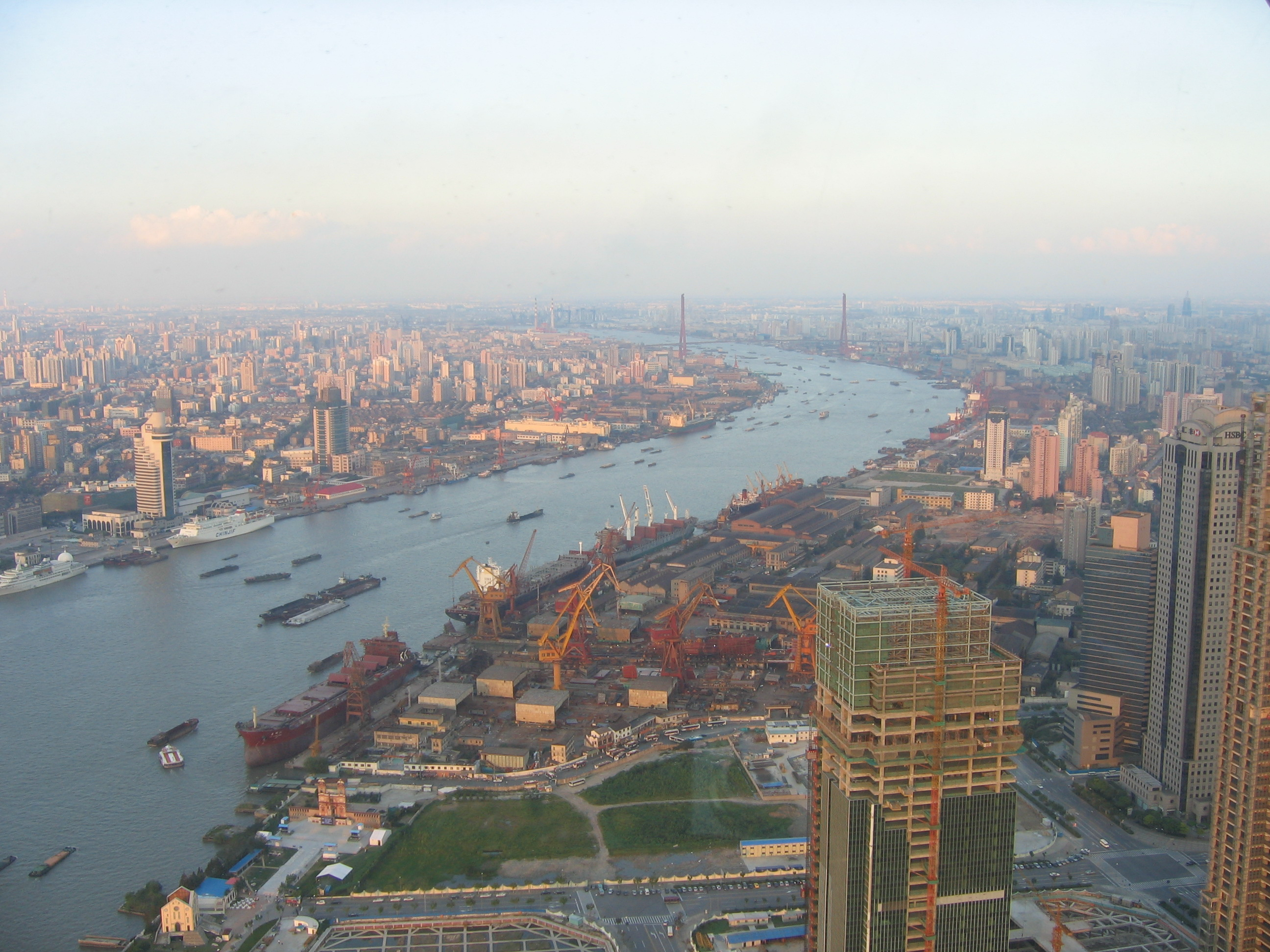 Things to do in Shanghai - The view from the Pearl Tower